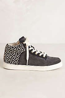 Anthropologie - Woven High Top Sneakers