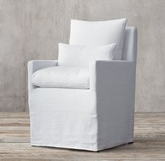 Cloud Dining Fabric Armchair