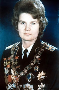 50 years ago Valentina Tereshkova became the first woman in space.
