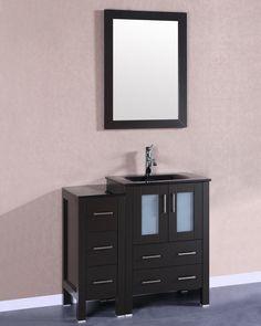 """36"""" Single Vanity Set with Mirror"""