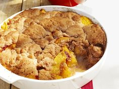The Supreme Plate: Hennessy Black Infused Peach Cobbler