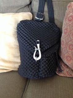 Handmade Paracord Sling Bag!