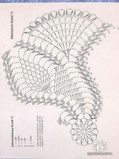 "- 12345 - ""Picasa"" žiniatinklio albumai - Her Crochet Crochet Doily Diagram, Crochet Doily Patterns, Crochet Blocks, Thread Crochet, Filet Crochet, Crochet Motif, Crochet Designs, Crochet Stitches, Crochet Chart"