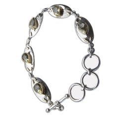 Indian Jewelry from India Peridot Gemstone Bracelet Silver Summer Fashion 9 Inches: Jewelry: Amazon.com