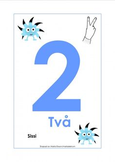 Sifferkort 1-12 med Babblarna och tecken Sign Language, Pre School, Speech Therapy, Childcare, Special Education, Mathematics, Signs, Diy For Kids, Letters