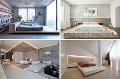 Bedroom Design Idea – Place Your Bed On A Raised Platform