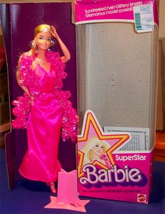 The first Barbie I can ever remember having <3 I need to get a repo of this one...and one day i will tattoo this one on my left forearm :)