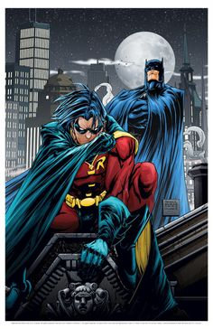 Batman and Robin by FreddieEWilliamsii on deviantART