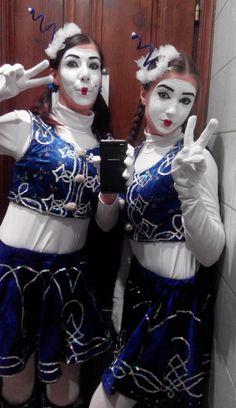 Clowns, Halloween Face Makeup, Goth, Joker, Punk, Female, Heart, Sweet, Style