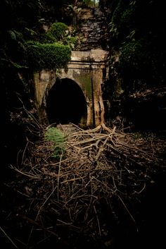 The old Helensburgh railway tunnel