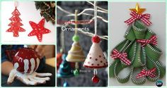 Super Easy Christmas Ornaments to Make with Kids in less than an hour