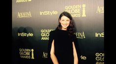 @outlanderirela1 the beautiful and Talented Caitriona Balfe at a Golden Globes event last night is LA