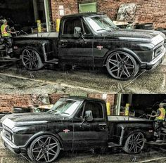 I seriously am keen on this coloring for this Chevy Pickup Trucks, Classic Chevy Trucks, Gm Trucks, Chevrolet Trucks, Diesel Trucks, Cool Trucks, Dropped Trucks, Lowered Trucks, Chevy Stepside