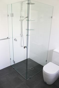 Frameless Bathroom Shower Shower Screen Frameless High Wycombe Bathrooms On the Ball Bathrooms Large Showers Modern Small Bathrooms