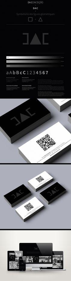 Identité visuelle personnelle www.da-conceicao.com