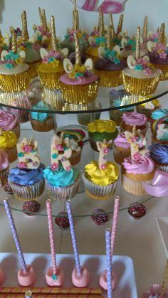 Detalles & sabores cupcake de Unicornio