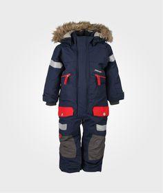 DIDRIKSONS THERON KIDS COVERALL NAVY fra Babystore. Om denne nettbutikken: http://nettbutikknytt.no/babystore-no/