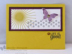 Stylin' Stampin' INKspiration: Stamp Set Focus: Kinda Eclectic, Jennifer Blomquist, Stampin' Up!