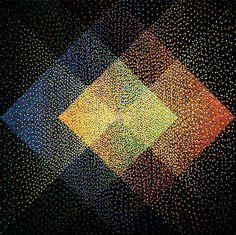 Julio Le Parc, Alchimies, Modulations, Torsions, 1990. Galeria Lélia Mordoch, Paris.