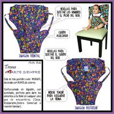 Trona Amarte Siempre Ref: 004, Envíos a nivel nacional sin costo adicional. Ideas, Belt Buckles, Fabric Chairs, High Chairs, Breastfeeding, Jokes, Thoughts