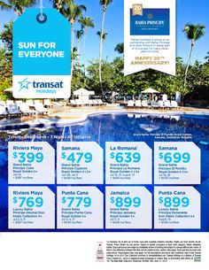 Featured Promotion - Bahia Principe Packages