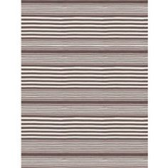 nice Rugby Stripe Charcoal Indoor Outdoor Rug