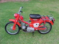 Spent many of hours on one of these as a kid. Vintage Motorcycles, Cars And Motorcycles, Honda S90, 50cc Moped, Motorcycle Design, Yamaha, Bike, Scooters, Vehicles