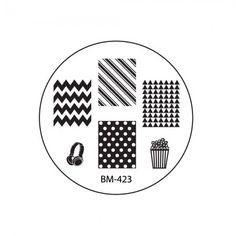 2013 CYO Collections Nail Stamping Plates BM-423