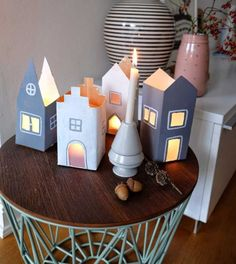 Dekorera snyggt med mjölkkartonger | Land Land, Birthday Candles, Archive, Home, Dekoration, Crafting, Ad Home, Homes, Haus