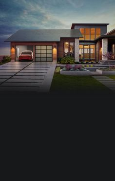 Tesla Solar Roof and the Powerwall is a match made in heaven.  https://www.tesla.com/solar