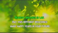 cute birthday wishes for brother in law- wishuhappybirthday Cute Birthday Wishes, Birthday Surprises For Him, Happy Birthday Wishes Images, Happy Birthday Pictures, Happy Birthday Greetings, Birthday Wishes For Brother, Birthday Quotes For Daughter, Happy New Year Images, Happy Year