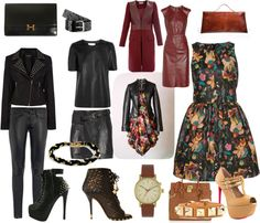 """""""Leather"""" by carolwatergirl on Polyvore"""