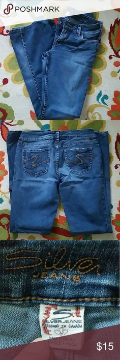 Like-New Silver Jeans Tuesday Boot Cut W32/L33 These Tuesday ...