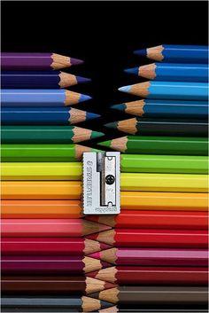 Genial idea con tanto material escolar nuevecito!!