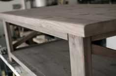 The Friendly Home: {finishing} How to oxidize wood The hunt for that Restoration Hardware furniture finish!