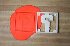 Mario Brothers Coin Block Cookie Cutter by Geek2Geek on Etsy, $8.00