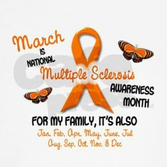 ms awareness pictures | March is Multiple Sclerosis Awareness Month- wear orange!! | Sisters