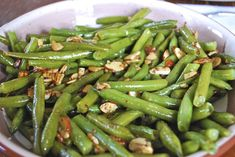 """Point-less"" Meals: Green Beans Amandine"