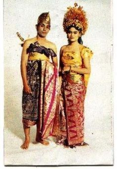 Traditional Costumes from Bali - Indonesia
