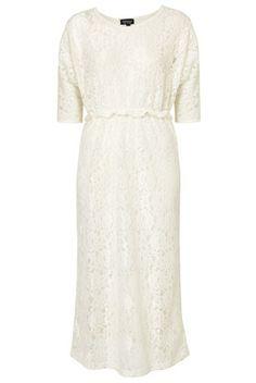#Topshop Lace midi dress