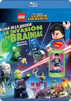 Ver LEGO DC Super Heroes: La liga de la justicia. La invasión de Brainiac 2016 Online Español Latino y Subtitulada HD - Yaske.to