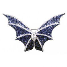 Blue sapphire brooch by Stephen Webster