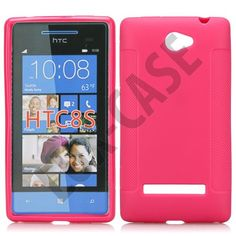 Soft Shell (Sterk Rosa) HTC Windows Phone 8S Deksel