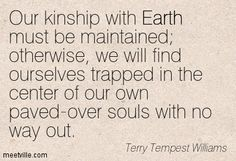 Terry Tempest Williams Quotes - Meetville