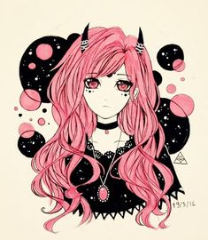 #fashion #anime #color #colorful #pink