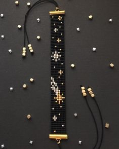 off loom beading techniques Loom Bracelet Patterns, Bead Loom Bracelets, Bead Loom Patterns, Jewelry Patterns, Beading Patterns, Beading Ideas, Silver Bracelets, Beading Supplies, Jewelry Bracelets