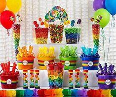 decoração festa infantil simples idéias