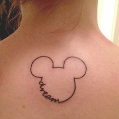 23 Stunningly Subtle Disney Tattoos