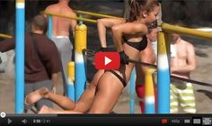 This girl is crazy! Street Workout In Russia
