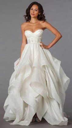 Definitely A Dream Dress For My Future Day Bridal Gowns Pnina Tornai Princess Ball Gown Wedding With Sweetheart Neckline And Empire Waist